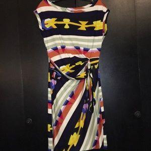 Diane Von Furstenberg dress multi colored della
